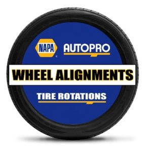 wheel alignments and front end work